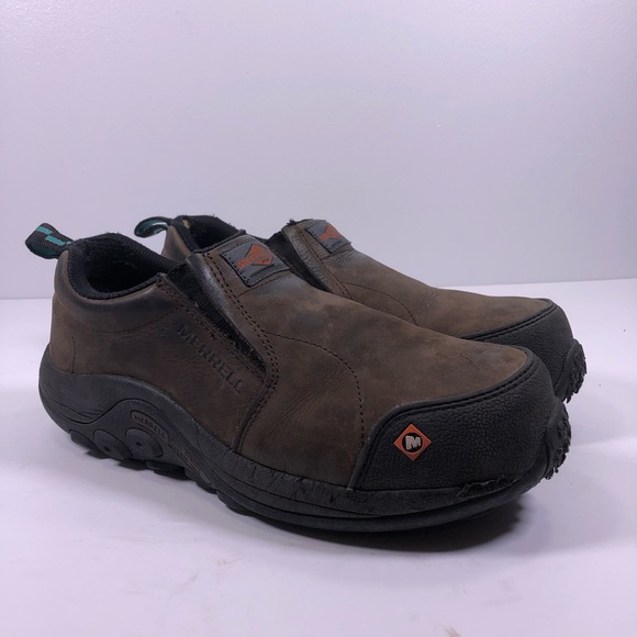 ee8be4f4bc Merrell Moc Composite Toe Safety Work Shoes J15794
